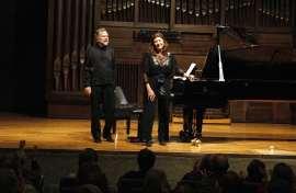 Carmen Deleito y Josep Colom. Concierto Cuentos - La infancia en la música , 2012