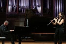 Ona Cardona y Timothy Lissimore. Concierto Recital de clarinete y piano , 2013
