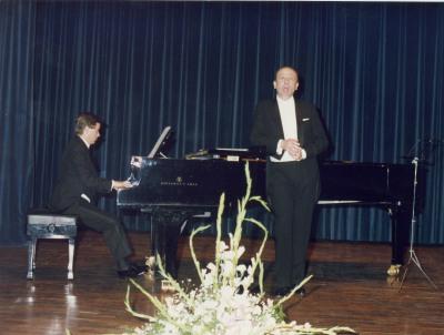 Manuel Cid y Fernando Turina. Concierto Canciones y romanzas de salón