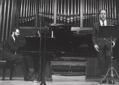 Sebastián Mariné y Luis Álvarez. Concierto Canciones y romanzas de salón