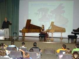 Polo Vallejo y Miriam Gómez-Morán. Recitales para jóvenes, 2007