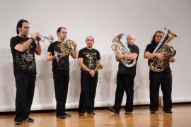 Spanish Brass Luur Metalls. Concierto Melodías simultáneas: la textura en música - Conciertos en familia (2010) , 2010