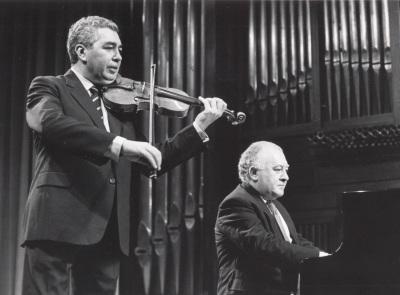 Víctor Martín y Miguel Zanetti. Concierto Violín moderno español