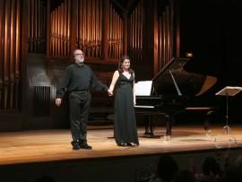 Elena Gragera y Antón Cardó. Concierto Nuevos lenguajes - Historia del Lied en siete conciertos , 2013