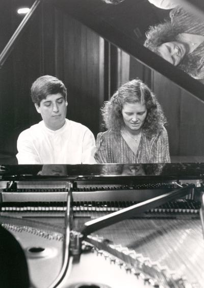 Manuel Cabero y Albada Olaya. Concierto Del pianoforte al piano