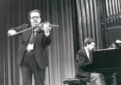 Ángel Jesús García y Gerardo López Laguna. Concierto El dúo violín-piano en el siglo XIX