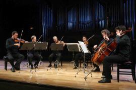 Cuarteto de Leipzig, Cristina Pozas y Miguel Jiménez. Concierto Sinfonía nº 6 - Las sinfonías de Beethoven en arreglos de cámara , 2014