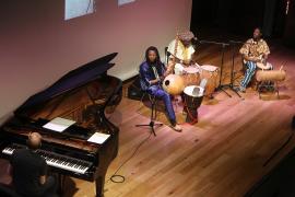 Conjunto de percusión africana y Alberto Rosado. Concierto Polirritmias. Ligeti africano - Popular y culta: la huella del folclore , 2015