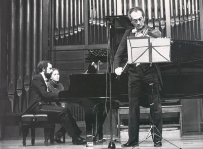 Josep Colom y Enrique Santiago. Concierto Música para la viola