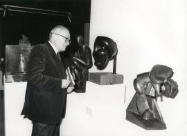 Fernando Zóbel. Exposición Medio siglo de escultura: 1900-1945, 1981