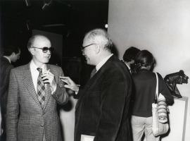 Eusebio Sempere y Fernando Zóbel. Exposición Medio siglo de escultura: 1900-1945, 1981