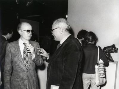 Eusebio Sempere y Fernando Zóbel. Exposición Medio siglo de escultura: 1900-1945