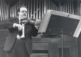 Ángel Jesús García. Concierto Presentación del Catálogo de Obras 1990 de la Biblioteca de Música Española Contemporánea - [Concierto especial 27] , 1990
