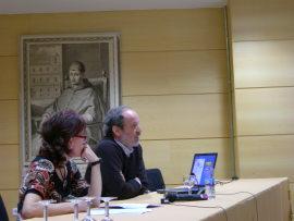 Lino Cabezas en el curso Los territorios del dibujo, 2008