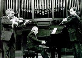 Víctor Martín, Miguel Zanetti y Antonio Arias Gago Gago. Concierto Homenaje a Antonio Arias Gago-Gago Mariño - [Concierto especial 29] , 1990