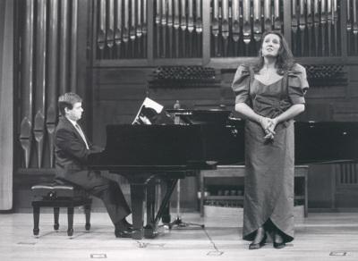 Elisa Belmonte y Xavier Pares. Recital de canto y piano