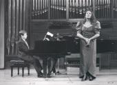 Elisa Belmonte y Xavier Pares. Recital de canto y piano , 1990