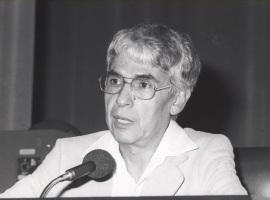 Alcides Lanza. Seminario sobre Música y Tecnología, 1985