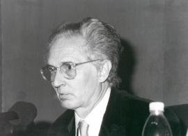 Andrés Amorós Guardiola. Mesa Redonda sobre la Ópera Don Quijote, 2000