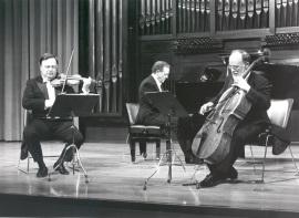 Pedro León, Joaquín Soriano y Pedro Corostola. Concierto Mendelssohn: música de cámara (1990) , 1990