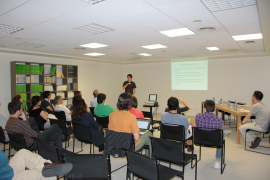Luis de la Calle. V Conference of Doctores Miembro and Former Research Fellows, 2012