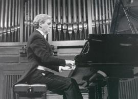 Joaquín Parra. Concierto Con motivo de la edición del Catálogo de obras de Salvador Bacarisse, por Christiane Heine - [Concierto especial 31] , 1990