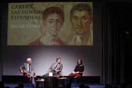 Rafael Atienza, Javier Gomá Lanzón y Teresa Sanjurjo. Presentación del libro Carta a las fundaciones españolas. Javier Gomá, 2015
