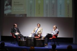 Bernat Hernández, Javier Gomá Lanzón y Ricardo García Cárcel. Presentación del libro Bartolomé de las Casas, de Bernat Hernández, 2015
