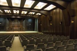 Vista del salón de actos. , 2013