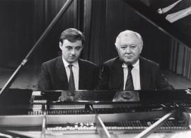 Fernando Turina y Miguel Zanetti. Concierto Mozart: integral de la obra para dos pianos y piano a cuatro manos , 1991