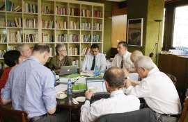 Reunión del Consejo académico de CEACS, 2012