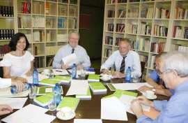Reunión del Consejo académico de CEACS, 2007