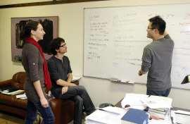 Discusión académica entre Luz Marina Arias, Luis de la Calle y Alexander Kuo, 2011