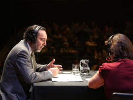 Carlos Cruz de Castro y Laura Prieto. Entrevistas de RNE, 2015