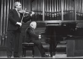 Víctor Martín y Miguel Zanetti. Concierto Sonatas para violín y piano, 1991