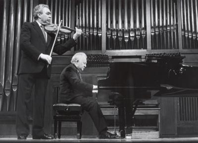 Víctor Martín y Miguel Zanetti. Concierto Sonatas para violín y piano