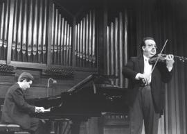Gerardo López Laguna y Ángel Jesús García. Concierto Música para una exposición: Monet , 1991