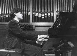Eleuterio Domínguez. Recital de piano , 1991