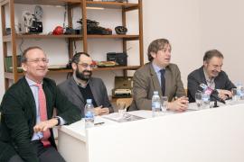 Manuel Fontán del Junco, Jose Luis Maire, Javier Gomá Lanzón y José Iges. Exposición