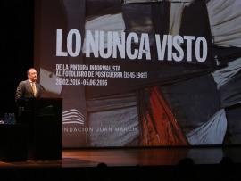 Manuel Fontán del Junco. LO NUNCA VISTO.  De la pintura informalista al fotolibro de postguerra (1945-1965), 2016