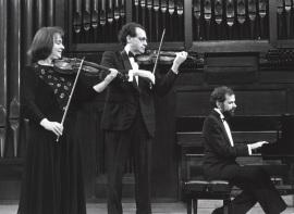 Polina Kotliarskaya, Francisco Comesaña y Josep Colom. Concierto Sergei Prokofiev. Música de cámara , 1991