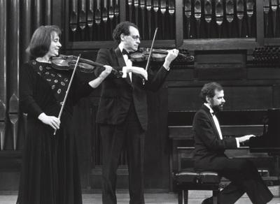 Polina Kotliarskaya, Francisco Comesaña y Josep Colom. Concierto Sergei Prokofiev. Música de cámara