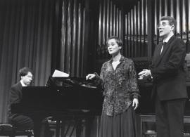 Xavier Pares, Carmen Rodríguez Aragón y Manuel Pérez Bermúdez. Concierto La españolada. Música española por compositores extranjeros , 1991