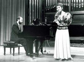 Ana Fernaud y Sebastián Mariné. Concierto Mozart infrecuente , 1991