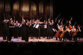 Orquesta de cuerda el Real Conservatorio Superior de Música de Madrid. Recital de música de cámara, 2016