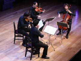 Cuarteto Idomeneo. Recital de música de cámara, 2016