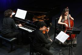 Trío Mozart de Deloitte. Recital de música de cámara, 2016