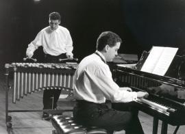 Juanjo Guillem y Jesús Amigo. Concierto Darius Milhaud en su centenario , 1992