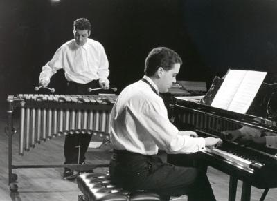 Juanjo Guillem y Jesús Amigo. Concierto Darius Milhaud en su centenario
