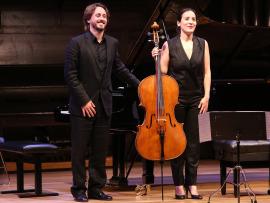 Iris Azquinezer y Antonio Galera. Recital de Violonchelo y piano, 2016